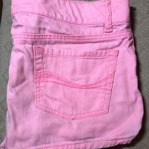 Distressed Pink Shorts